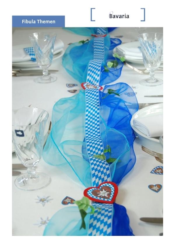 Bayern Tischdekoration von Fibula [ STYLE ]®