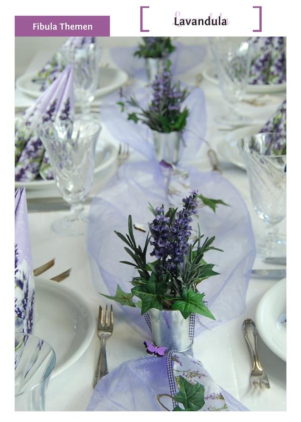 Vintage tischdekoration von fibula style - Dekoration lavendel ...
