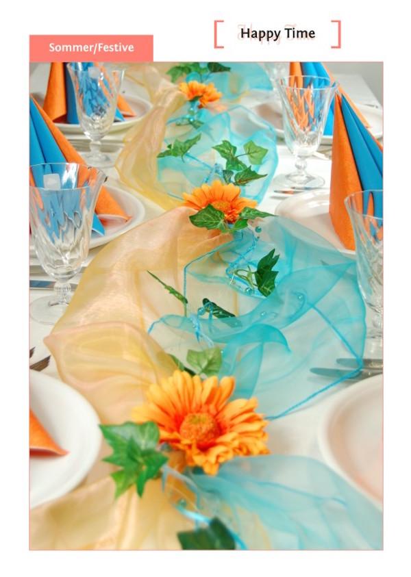 Fibula Style Die Einfache Bastelidee Fur Tischdekoration Zum